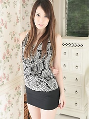 Girl skirt asian sexy short