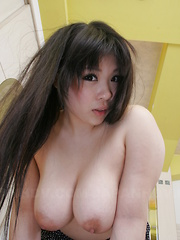 Hot Momoka Matsumoto displays her fine tits